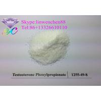 Testosterone Propionate Body Building Steroid White Crystal CAS 57-85-2 Manufactures