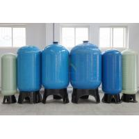RO FRP Sealed Reverse Osmosis Water Storage Tank 0.25M3 - 200M3 With Blue / Nature White Manufactures