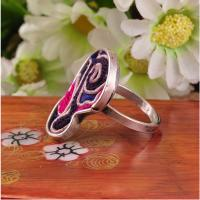Buy cheap lastest design custom ethnic jewelry embroidery hmong rings with adjustable size from wholesalers