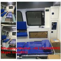 Quality high quality BENZ 4*2 gasoline Emergence ambulance Vehicles, 2017s best seller for sale