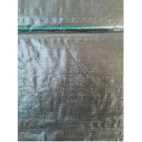 Home Use PE PP Woven Garden Ground Cover Fabric / Weed Mat , Black Manufactures