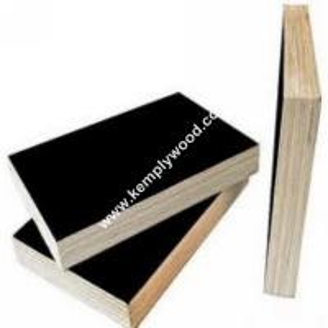 China Poplar core 18mm film faced plywood, black film faced plywood, black shuttering plywood on sale