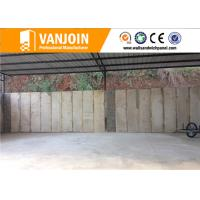 Buy cheap Lightweight Precast EPS Cement Sandwich Panel , Industry Reinforced Concrete from wholesalers