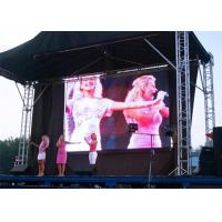 High Definition Full Color LED Stage Display  P10 Outdoor SMD3535 1/2 Scan Manufactures