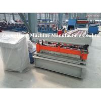 Colorful Metal Roofing Sheet Roll Forming Machine Q235 Computer Control Manufactures
