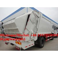 Quality Dongfeng 4*2 RHD 12-14m3 compacted garbage truck for sale, Factory sale best price 10tons compress garbage truck for sale