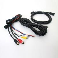 Warerpoof Video And Power BNC Cable , CCTV Security Camera Audio Video Cable Manufactures