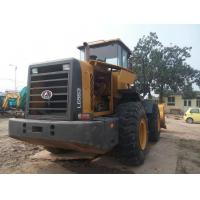 16.6 Ton Tractor Front End Loaders Secong Hand Lingong SDLG953 5000kg Rated Load Manufactures
