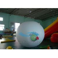 Big Round Printed Helium Balloons , Sky Advertising Balloons For Wedding Manufactures