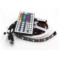 China USB Powered RGB Changing Color Led Strip Light 44 key RemoteFor PC Monitor Led Tv Backlight Strip on sale