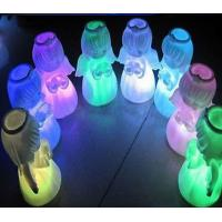 Xmas Decoration Color Changing Angel Doll LED Night Light Manufactures