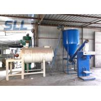 Simple Spiral Band Dry Mortar Mixer Machine With Sand Dryer High Performance Manufactures