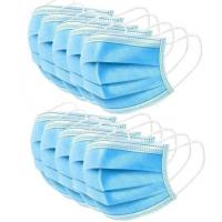 Anti Virus 3 Ply Surgical Face Mask High Filtration Efficiency  Soft Lining Manufactures