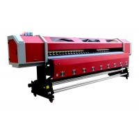 Outdoor 3.2M Double Heads Eco-solvent Printing Machine For PP , Vinyl , Canvas Manufactures