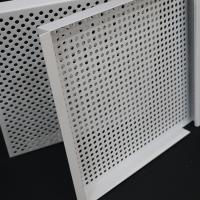 Fireproof Lay In Ceiling Tiles E Shape Hook On 3003 Perforated Aluminum Alloy Manufactures