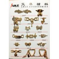 Zinc alloy women's bow buckle surface inlaid crystal for Shoe bag Manufactures