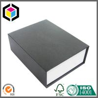 Material Rigid Chipboard Black Color Customized Order Paper Gift Box Manufactures