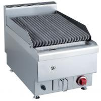 Quality 7.2KW Commercial Gas Lava Rock Grill Counter Top Western Kitchen Equipment for sale