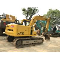 Komatsu PC120 Second Hand Excavators 500mm Shoe Size 0.5m3 Bucket Capacity Manufactures