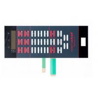 Quality Good Tactility Performance LED Membrane Switch Assembly With 3M467 / 3M468 for sale