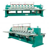 8 Heads 9 Colors Intelligent Flat Embroidery Machine , Max Speed 1000 RPM Manufactures