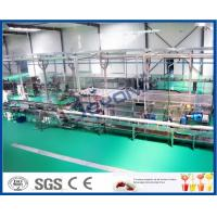 High Efficiency Fruit Juice Processing Line Process Beverage Sterilizing Tunnel Manufactures