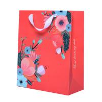 China Recyclable Custom Printed Paper Bags Craft Printing Coloured Paper Carrier Bags on sale