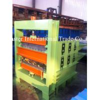 Double - Deck Hydraulic Crimping Equipment For Metal PPGI Roof Panel 1mm Manufactures