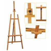 Bamboo Adjustable Artist Painting Easel Tripod Stand For Painting OEM Avaliable Manufactures