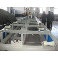 PVC / PP Pipe Socketing Machine Production Line Fast Working Speed Manufactures