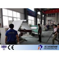 Professional PS Foam Sheet Extrusion Line , PS Foam Machine 100-180kg/H Manufactures