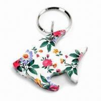 2 in 1 Fish-shaped Bottle Opener and Keychain Manufactures