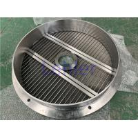 Quality Mixer Dispersion Machines Basket Mill / Bead Mill Screen 3mm Beads 1.2mm Slot for sale