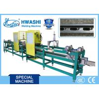 Quality Automatic Spot Welding Machine For Welding BIS Fixing Rail With 16m Automatic Feeder for sale