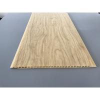 7.5mm Thick Corrosion Resistant PVC Wood Panels As Ceiling And Wall Cladding Manufactures
