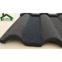 Milano Stone Coated Steel Roof Tile / Stone Coated Metal Tile Roofing Sheet In Nigeria Manufactures