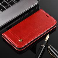 Book Cover Magnetic Leather Case For Samsung A3 Oily Vintage Two Card Slot Manufactures