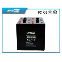 Square 100AH AGM  Lead Acid Batteries For Solar Power System with two color Manufactures