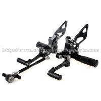Custom Motorcycle Rear Sets / Aluminum Alloy Motorcycle Foot Pegs Manufactures