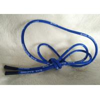 Soft / Matt Silicone Ending Zipper Cord With 2.5mm Cotton String Manufactures