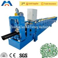 China Galvanized Metal Water Tube /Pipe/Gutter Roll Forming Machine 10m/min with CE on sale