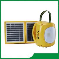China High power led solar camping lantern with mobile phone charger, mp3, radio for cheap sale on sale