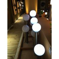 Waterproof IP68 Outdoor Solar Globe Lights With Changing Color LED Manufactures