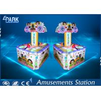 Coin Pusher Amusement Game Machines Double Players Cute Design For Children Manufactures