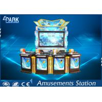 55 Inch Coin Operated Arcade Machines Redemption Arcade Fishing Game Machine 4 Players Manufactures