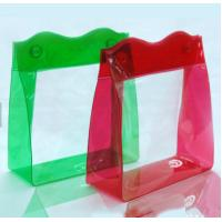 OEM Plastic PVC Gift Bags With Cosmetics , Clothing Package Printing Manufactures