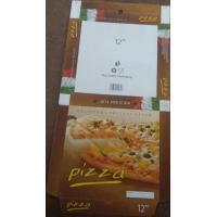 Printed Corrugated Cardboard Pizza Box for Wholesale Manufactures