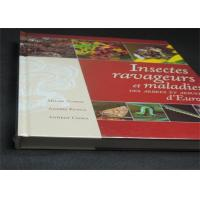Professional France Insects Hardcover Book Printing With Plastic Film Manufactures