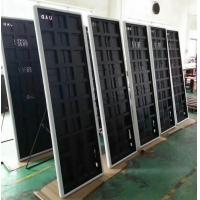 Quality promotion price P2 mirror LED display screen with super slim cabinet for shop window advertising for sale