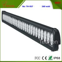 260W 43 Inch Single-Row LED Light Bar for Commercial Vehicles Manufactures